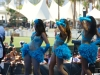 Hollywood Showgirls perform with SAINT MOTEL at the KROQ Weenie Roast