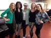 Alicia Keys with showgirls