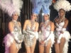 Bling Divas showgirls in silver