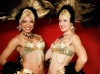 black & gold showgirls costumes