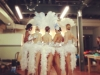 showgirls tail feathers