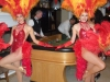 showgirls in red for casino parties