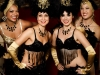 Showgirls gold & black corporate events